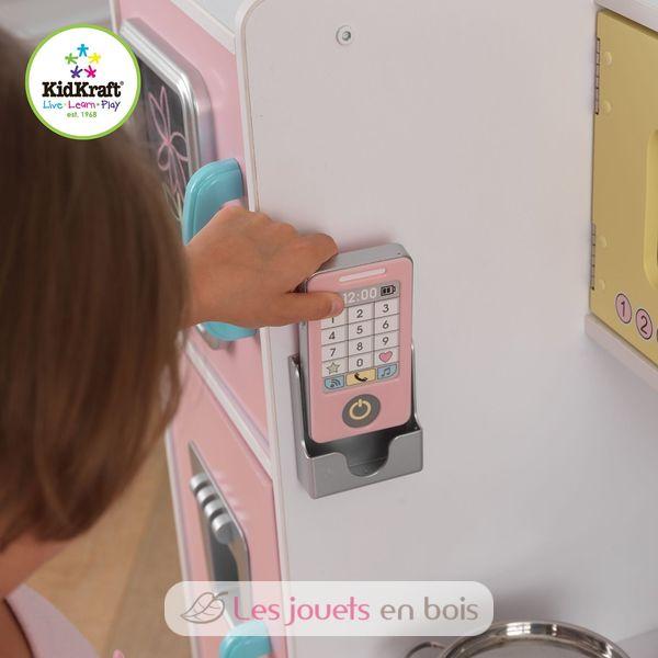 kidkraft 53257, uptown küche pastellfarbene aus holz mädchen und