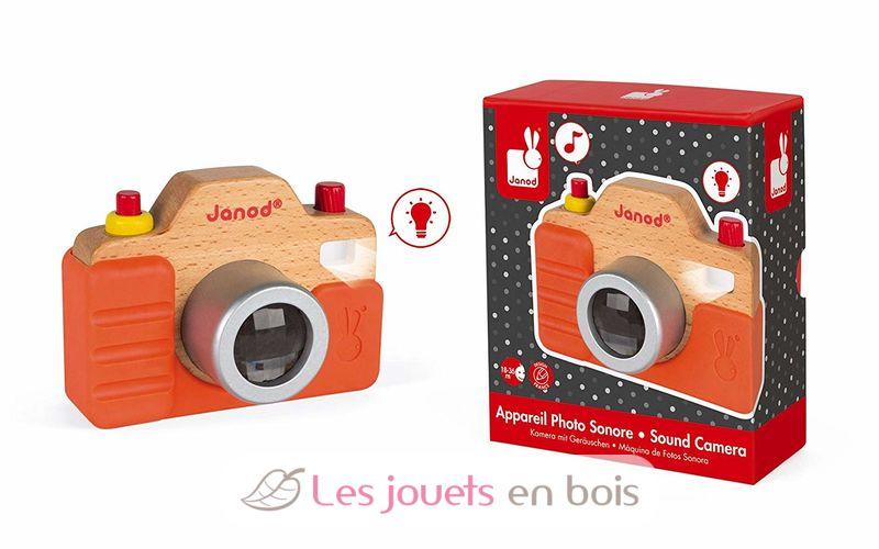 Janod J05335 Kamera mit Licht und Sound