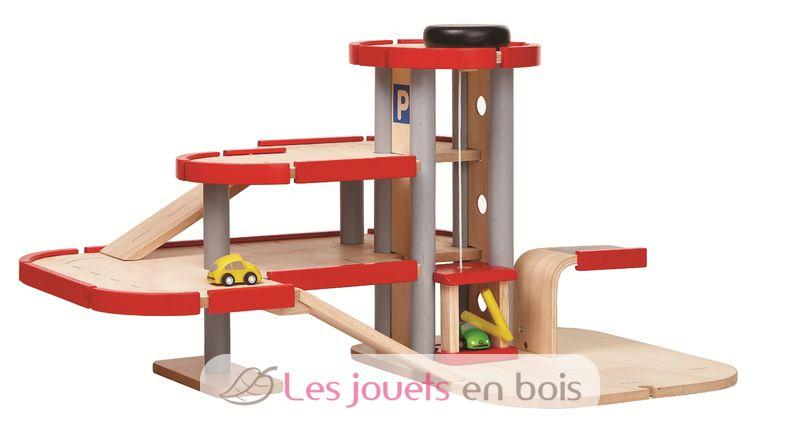 Plan Toys Garage : Meine große garage parkhaus aus holz plan toys pt